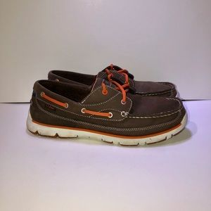 LL Bean Leather Boat Shoe
